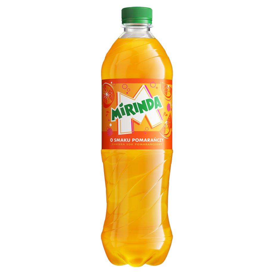 Mirinda - Napój gazowany o smaku pomarańczowym 850 ml