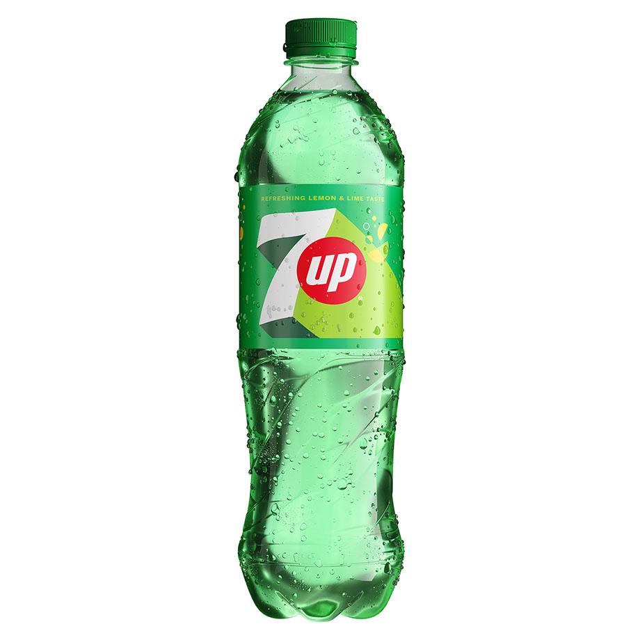 7UP - Napój gazowany o smaku cytrynowo-limonkowym 850 ml